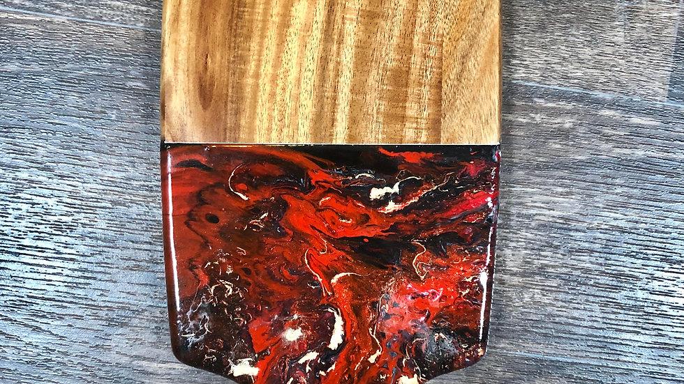 Red - Acacia Cheeseboard