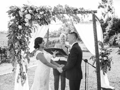 Melanie and Mike Wedding