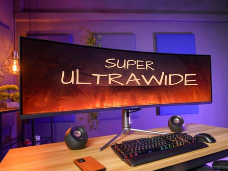 Oh, That's A BIG ONE... Prism X490 PRO Super Ultrawide Monitor