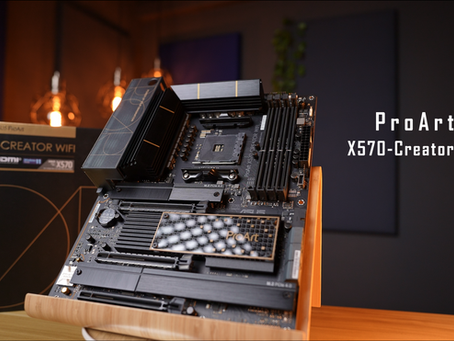 Creators Wet Dream - Asus ProArt X570 Creator WiFi Motherboard