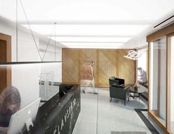Lobby administrativní budovy