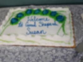Rev. Susan's cake