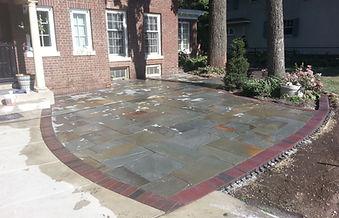 We design and build custom stone patios