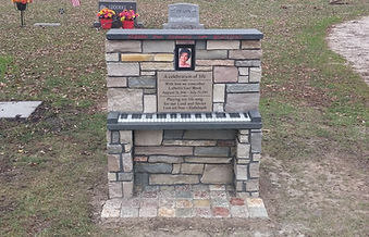 Memorialize a loved one with a custom stone memorial or monument