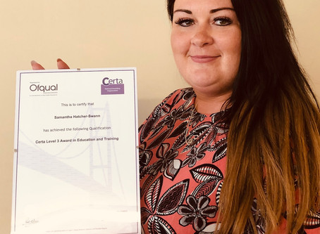 CASE STUDY - Sam gains Level 3 qualification thanks to POA Learning Eastchurch