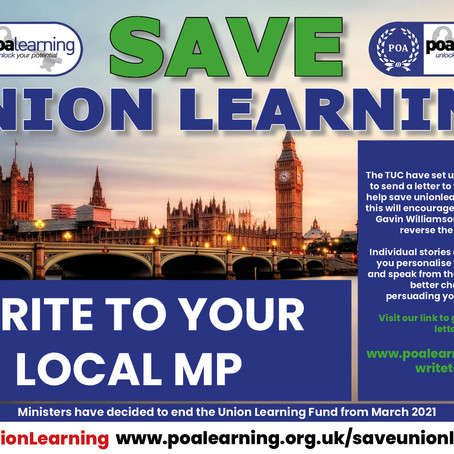 #SaveUnionLearning Update