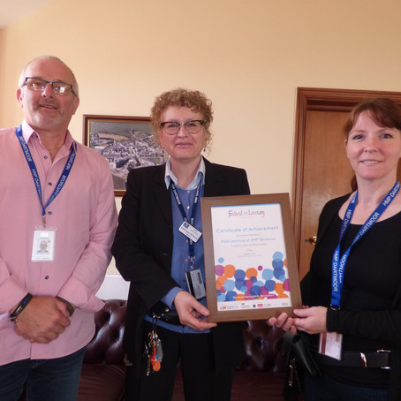 Special Award for POA Learning at Dartmoor
