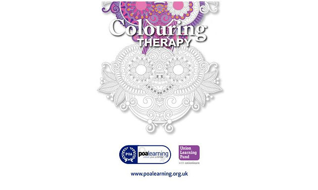 Adult Therapy Colouring Book