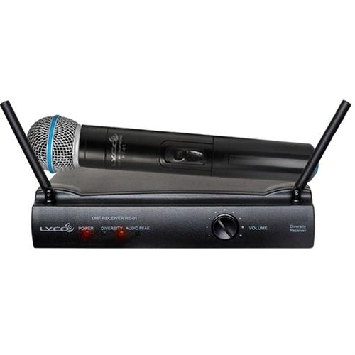 Microfone sem Fio Lyco UH01M