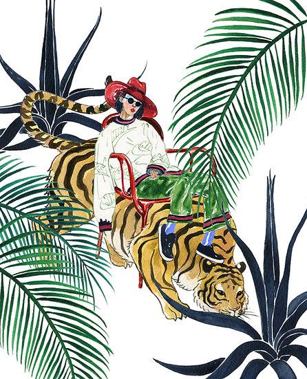 Jungle Mila 複製畫