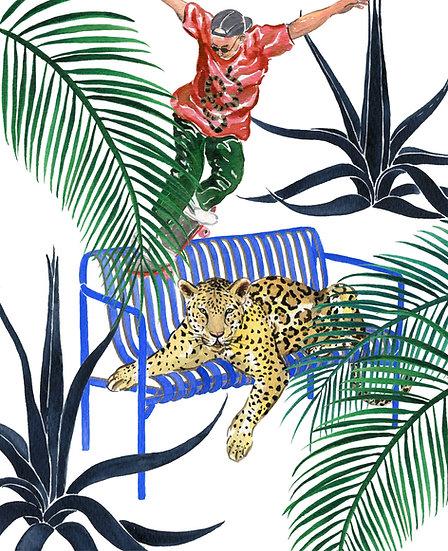 Jungle Pali 複製畫