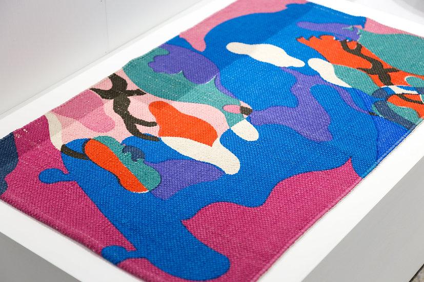 老虎迷彩地毯