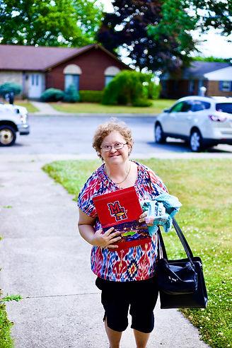 Mary Jo coming home.JPEG