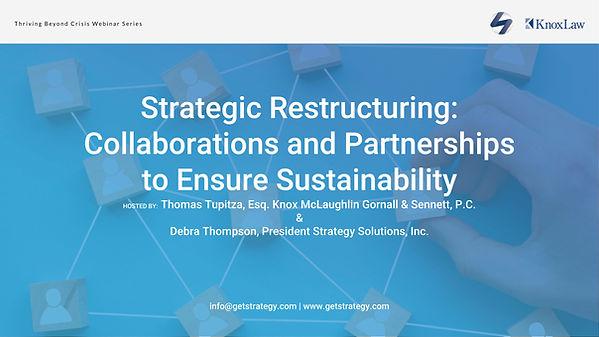 SSI WebinarSeries2_StrategicRestructurin