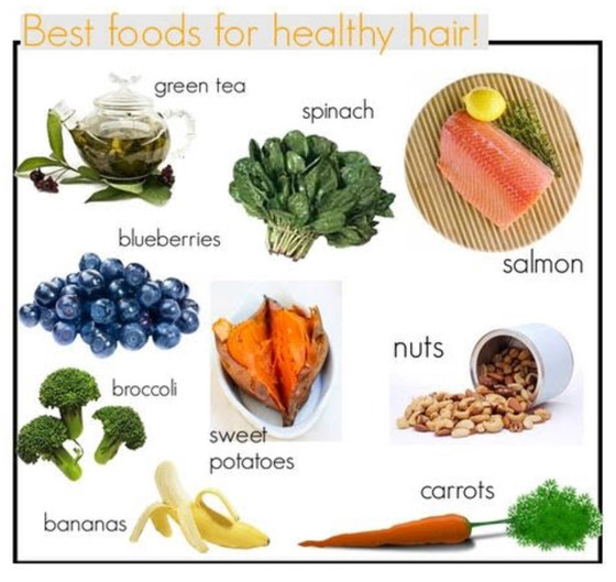 Top 12 Snacks for healthy hair