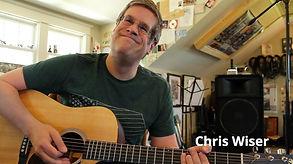 Chris Wiser playing guitar