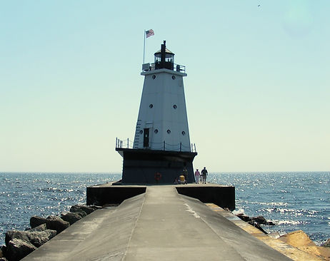 Ludinton Breakwater Lighthouse