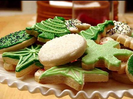 Hexagon House Perfect Sugar cookies