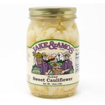 Jake & Amos Pickled Sweet Cauliflower