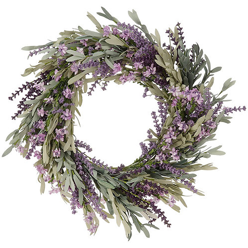 "24"" Lavender Wreath"