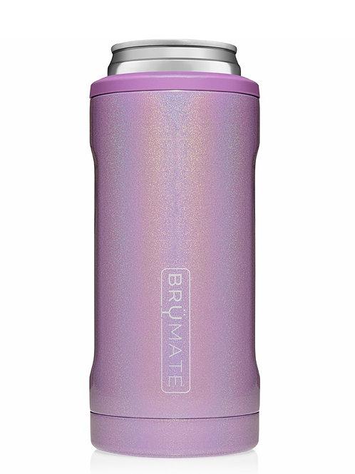Brumate Hopsulator Slim 12 oz Glitter Violet