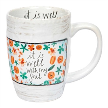 """""""It is Well with My Soul"""" Mug"""