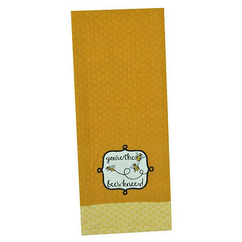 You're The Bees Knees Dish Towel