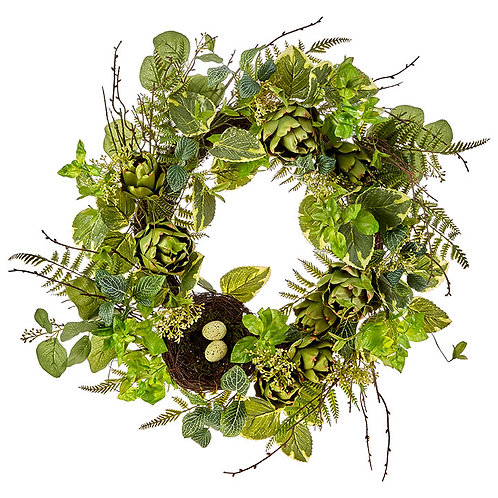 "24"" Artichoke Wreath"