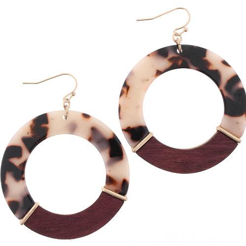 Jean Marie Hoop Earrings
