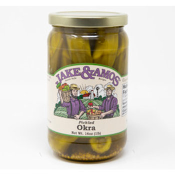 Jake & Amos Pickled Okra