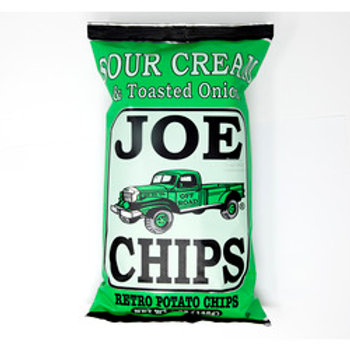 Joe Chips Sour Cream & Toasted Onion  5 oz
