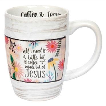 """Coffee & Jesus"" Mug"