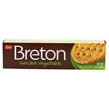 Breton Garden Vegetable Crackers
