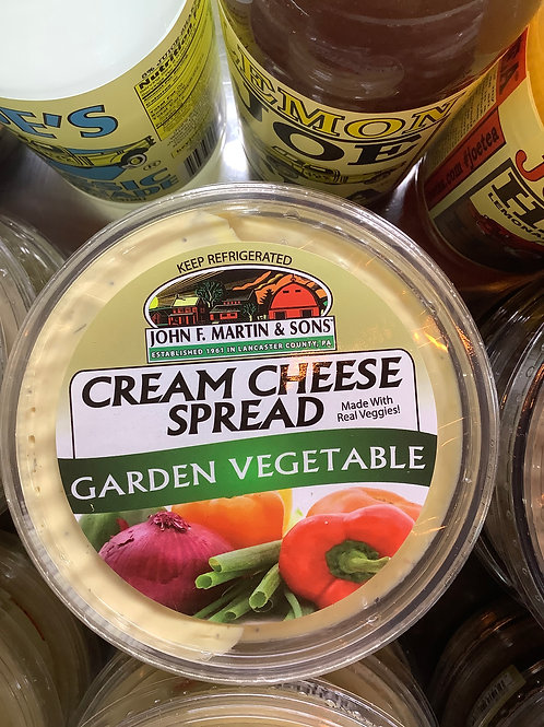 Garden Vegetable Cream Cheese Dip