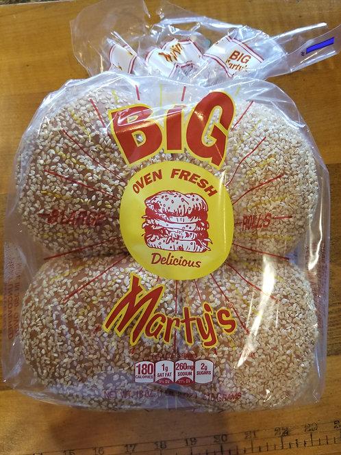 Big Marty's Sesame Seed Rolls