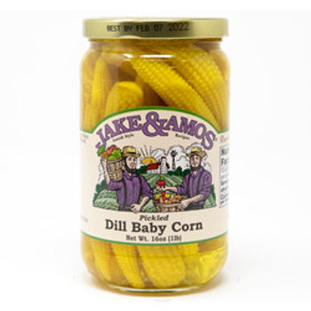 Jake & Amos Pickled Dill Baby Corn