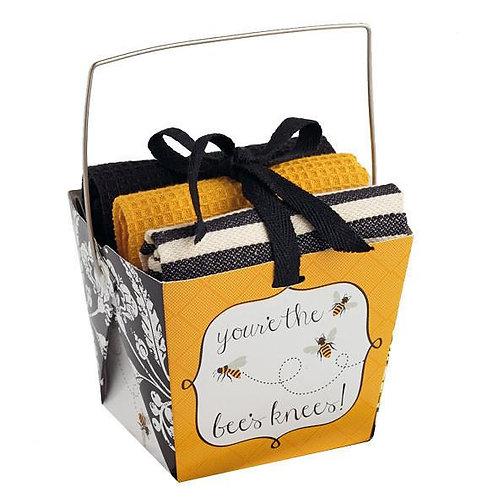 Bees Knees Take Out Box Gift Set