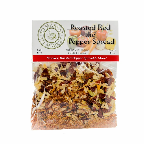 Roasted Red the Pepper Spread Mix