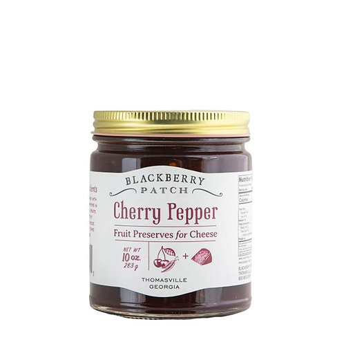 Blackberry Patch Cherry Pepper Preserves for Cheese