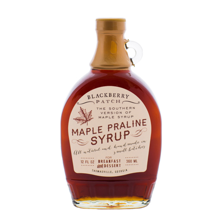 Blackberry Maple Praline Syrup