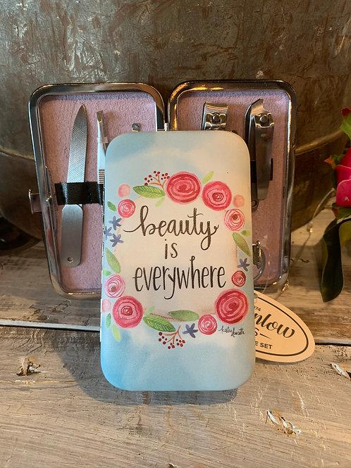"""Beauty"" is Everywhere"" Mani Set"