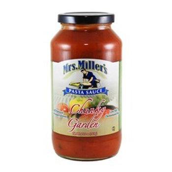 Mrs. Miller's Chunky Garden Pasta Sauce