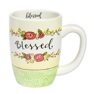 """Blessed"" Mug"