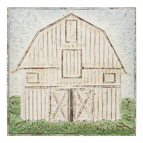 "22.25"" Tin Barn Wall Art"
