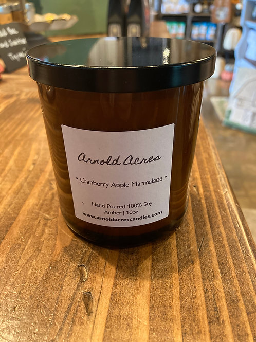 Cranberry Apple Marmalade 10 oz Soy Candle