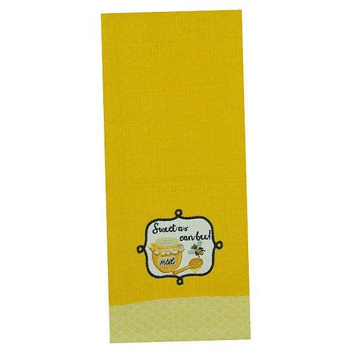 Sweet As Can Bee Dish Towel