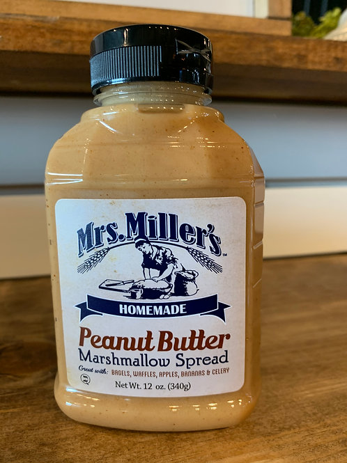 Peanut Butter Marshmallow Spread  12 oz 😋