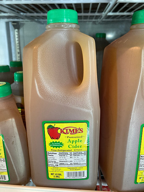 Half Gallon Kimes Apple Cider
