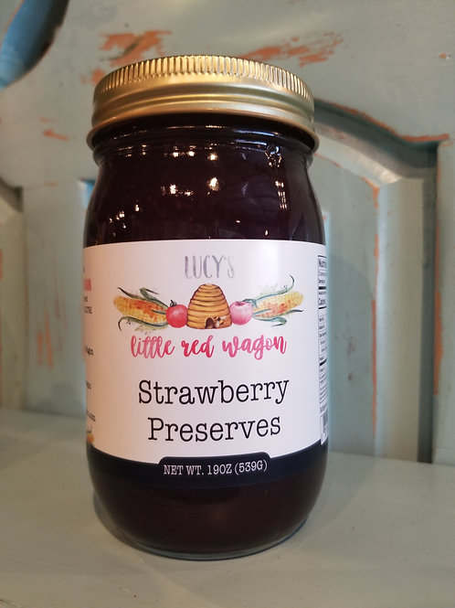 Lucy's Strawberry Preserves