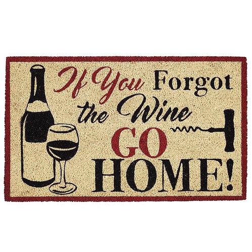 Wine Outdoor Door Mat